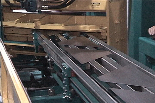 The Pivot Slear will produce triangles, trapezoids, parallelograms and square or rectangular blanks direct from coil stock with an absolute minimum of scrap.